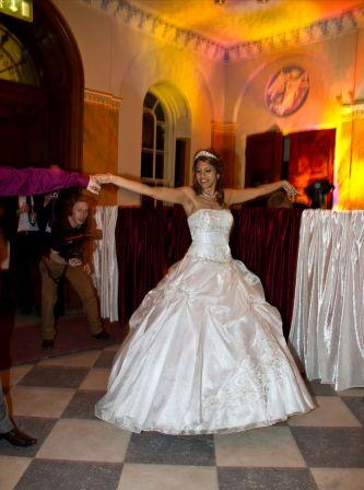 Hylands House wedding DJ and Disco Classic Nomad Disco and Light Show Experience