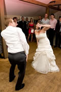 Best Wedding Disco Party in Essex at Gaynes Park