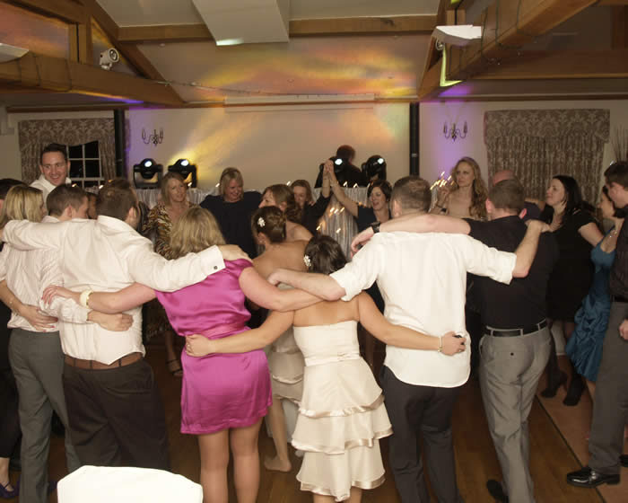 Classic Nomad Disco at Essex Wedding Party